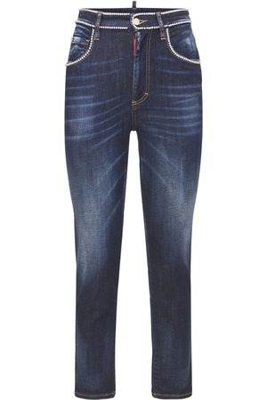 DSQUARED2 Twiggy Jean Stretch Cotton Jeans
