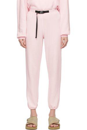 Women Loungewear - John Elliott Pink Vintage Fleece Belted Lounge Pants