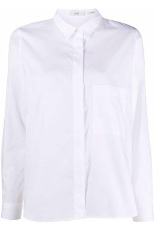 Closed Long-sleeve organic cotton shirt