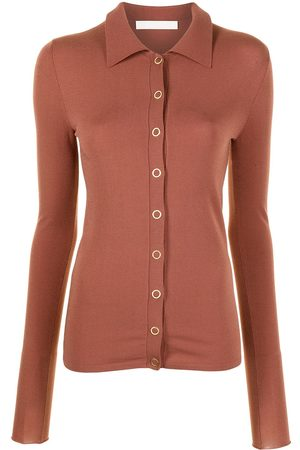 DION LEE Hosiery slim-fit shirt