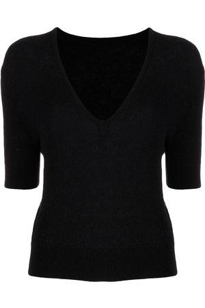 Khaite Women Short Sleeve - The Sierra short-sleeve jumper