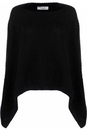 VALENTINO Knitted cape jumper