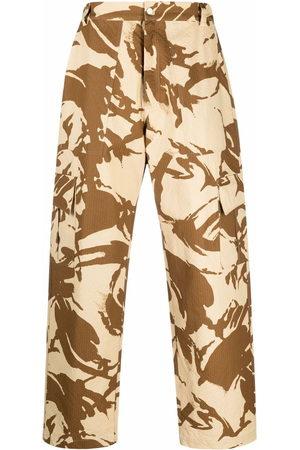 Paria Farzaneh Cargo Trousers - Camouflage-print cargo trousers