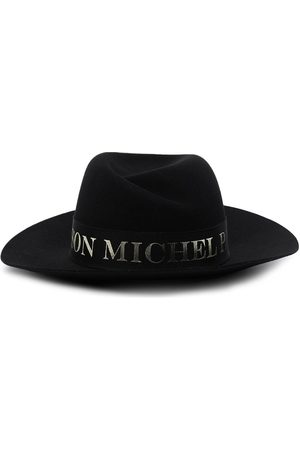 Le Mont St Michel Virginie logo-tape fedora hat