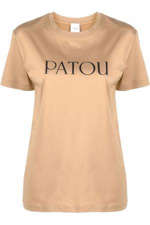 Patou Logo-print cotton T-shirt
