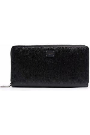 Dolce & Gabbana Men Wallets - Textured zip-around wallet