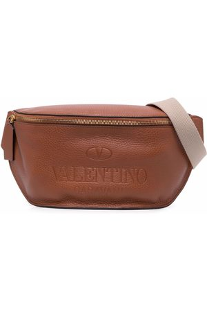 VALENTINO GARAVANI Men Belts - Embossed-logo belt bag