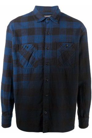 NEIGHBORHOOD Fade plaid-check shirt