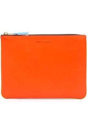Comme des Garçons Wallets - Super Fluo leather wallet