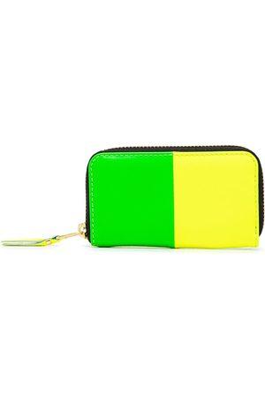 Comme des Garçons Women Wallets - Colour-block zip-around wallet