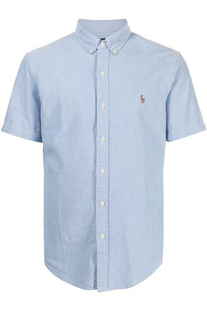 Polo Ralph Lauren Logo-embroidered Oxford short-sleeve shirt