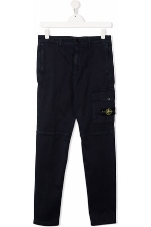 Stone Island Cargo Trousers - TEEN panelled cargo trousers