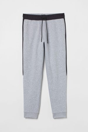 H&M Side-panel joggers - Grey