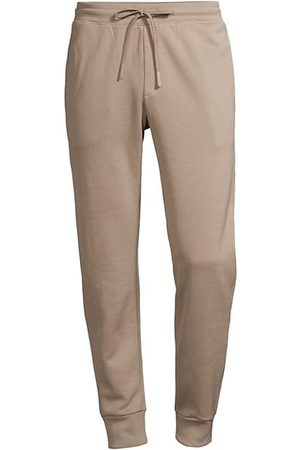THEORY Men Joggers - Essential Waffle-Knit Sweatpants