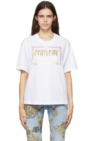 Versace Jeans Couture White & Logo T-Shirt