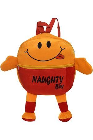 DukieKooky Unisex Kids Red & Orange Emoji Backpack