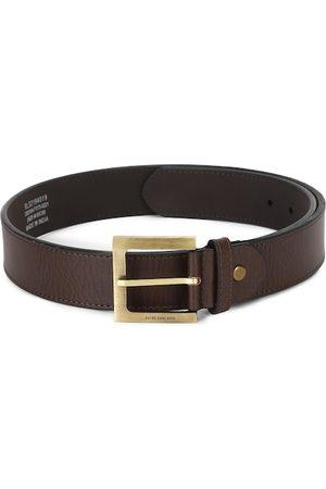 Peter England Men Brown Textured PU Formal Belt