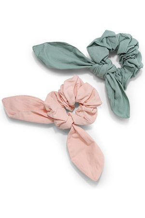 Forever 21 Women Teal & Pink Set of 2 Hairband