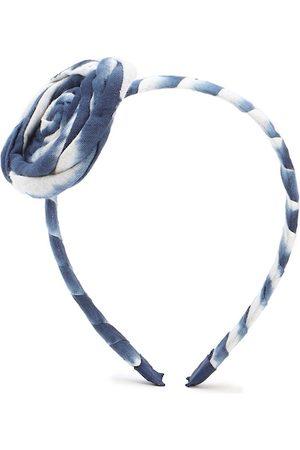 Forever 21 Women Blue & White Hairband