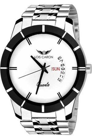 LOIS CARON Men White Analogue Watch MLC-8074