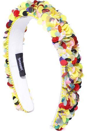 Anekaant Women Multicoloured Sequinned & Beaded Hairband