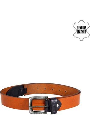 Scharf Men Brown Leather Belt