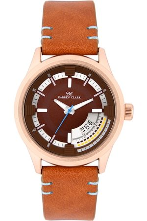 DARREN CLARK Men Brown Analogue Watch 11017-WLD-20