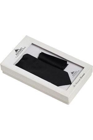 Alvaro Castagnino Men Black Solid Accessory Gift Set