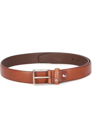 Allen Solly Men Brown Textured PU Formal Belt