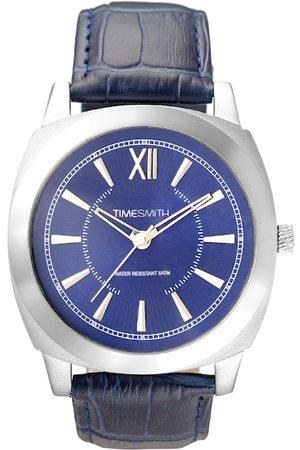 TIMESMITH Men Blue Analogue Watch TSM-095
