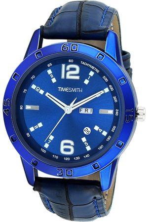 TIMESMITH Men Blue Analogue Watch TSC-034