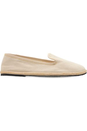 AG Women Loafers - 10mm Linen Loafers