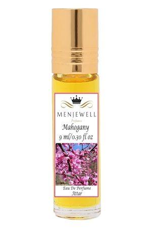 Menjewell Mahogany Attar Perfume - 9 ml