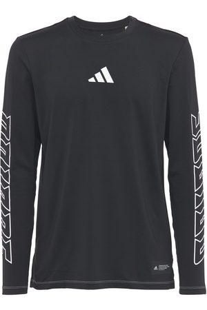 adidas Women Sports T-shirts - Fb Hype L/s T-shirt