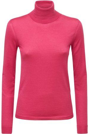 VALENTINO Cashmere & Silk Blend Turtleneck Sweater