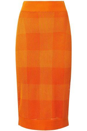 Burberry Women Pencil Skirts - Zafina Knit Midi Pencil Skirt