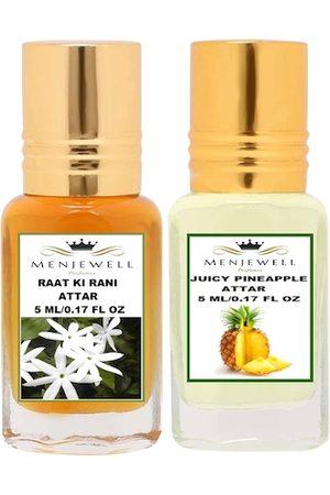 Menjewell Pack of 2 Transparent Perfume