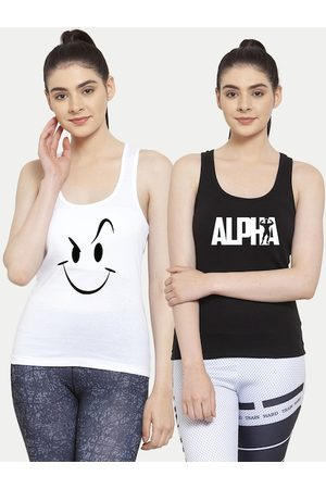 Friskers White Tank Top