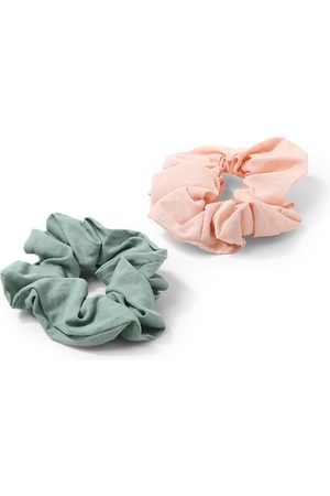 Forever 21 Women Teal & Peach-Coloured Set of 2 Hairband