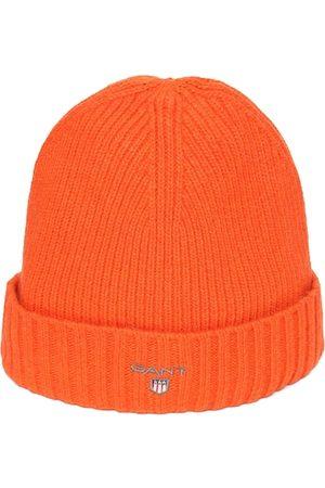 GANT Men Orange Solid Beanie