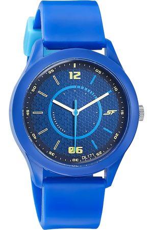 Sonata Men Blue Analogue Watch