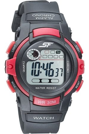 Sonata Men Grey Digital Watch 77110PP01