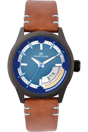 DARREN CLARK Men Blue Analogue Watch 11017-NLD-52