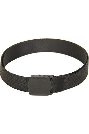 Calvadoss Men Black Textured Belt