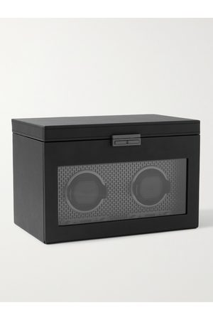 Wolf Axis Vegan Leather Two-Piece Watch Winder