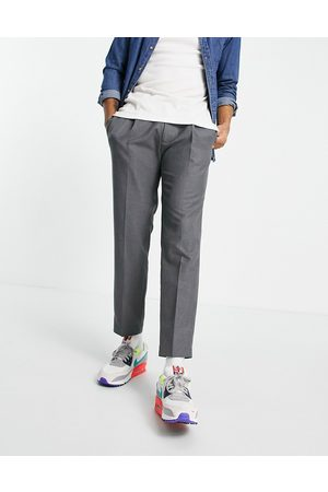 Topman Tapered trousers with pleat in
