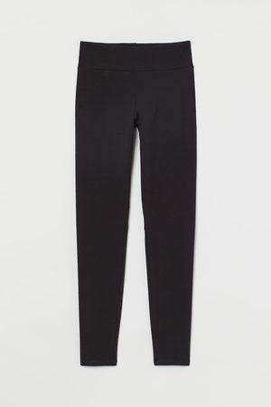 H&M High-waisted leggings