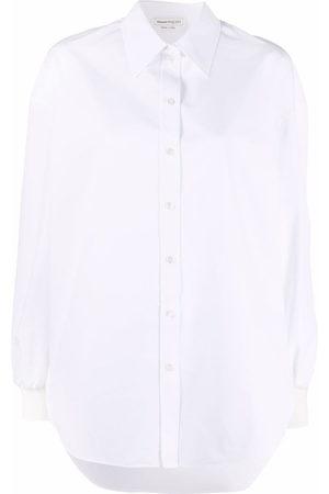 Alexander McQueen Long-sleeved cotton shirt