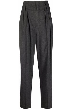 Isabel Marant Women Trousers - High-waisted suit trousers