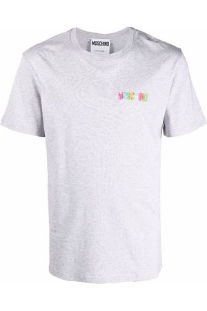 Moschino Chest-logo cotton T-shirt